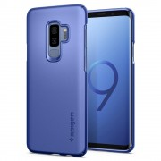 Husa slim Spigen Thin Fit Samsung Galaxy S9 Plus Coral Blue