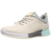 ECCO S-Three Gore-Tex Zapatos de Golf para Mujer, Gravel, 10-10.5 US