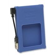 Box esterno 2.5'' SATA USB2.0 Silicone Blu