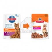 Hill's Science Plan Adult hrana pentru pisici cu vita - la plic 12 x 85 g