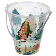 Onthebeach Pack of 3 - Children's Large Sea Life Crab Crabbing Bucket (Assorted Designs) Summer Beach Fun!