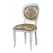 Stuhl Design aus Holz mit Polsterung