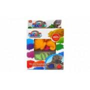 Set 2 cutii nisip pentru modelat + 8 forme 100 non-toxic culori vibrante