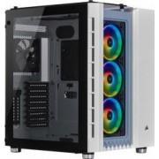 Carcasa Corsair Crystal Series 680X RGB ATX High Airflow Tempered Glass Alb