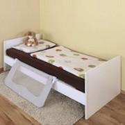 Bariera protectie pat copii rabatabila ByMySide XL, 150 cm