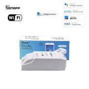 Sonoff Dual - Inteligentný dvojkanálový WiFi spínač