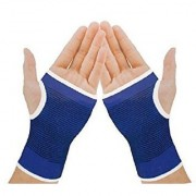 Meenamart Palm Wrist Glove Both Hand Grip Support Protector Brace Sleeve Support (Free Size)