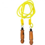 SVR Axel Skipping Rope for Weight-loss Fitness Good Grip Jump Rope made in Lightweight Sheesham Wood