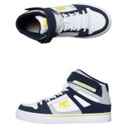 Dc Shoes Pure Hightop Ev Navy Grey