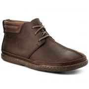 Обувки CLARKS - Trapell Mid 261222527 Dark Brown Leather