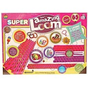 Super Amazing Loom Band Kit with 2 Looms that can be Joined, 1500+ Bands