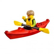 LEGO City Beachgoer MiniFigure: Kayaker (w/ Kayak & Oars) 60153