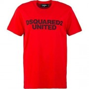 Dsquared2 Logo Chest T-Shirt Rouge Medium