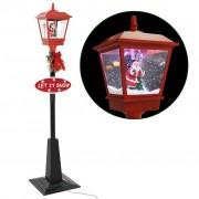 vidaXL Празнична улична лампа с Дядо Коледа, 180 см, LED