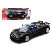 Motormax - 1/18 Die-Cast Collection Pagani Zonda C12 (Black)