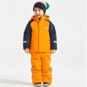 Didriksons Idre bright orange barnbyxa (Stl: 90, 100, 110, 120, 130, )