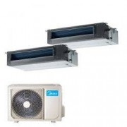 Midea Climatizzatore Midea Canalizzato Dual 12000+18000 M30-27fn8-q R32