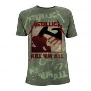 tricou stil metal bărbați Metallica - Kill 'Em All - - RTMTLTSOGKIL