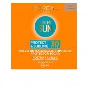 SUBLIME SUN pudra maquillaje compacto SPF30 9 gr