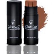 GlamGals Matte Finish Stick Foundation 30 ml Muddy Brown