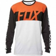 FOX Camiseta Fox Scramblur Airline Black Vintage