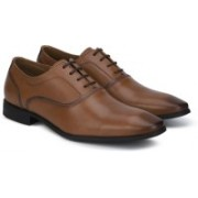Hush Puppies NEW FRED OXFORD Lace Up For Men(Tan)