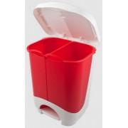 Cos de gunoi 2 compartimente ECO XL 2x10.5 litri
