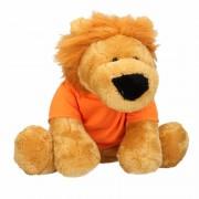 Geen Pluche Holland leeuw knuffel 30 cm met oranje shirt