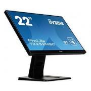 "IIYAMA ProLite T2252MSC-B1 21.5"" 1920 x 1080Pixel Multi-Touch Nero monitor Touch screen"