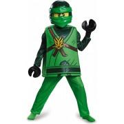 LEGO NINJAGO Lloyd deluxe kostuum voor kinderen maat 110/122 - Verkleedkleding