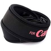 American Sia Camera Neck/shoulder Load bearing Neoprene elastic straps Strap (Black Red)