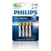 Philips Batterij Penlite LR03 Extremelife 1.5V AAA Per 4