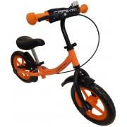 """Capetan® Sirius Premium Line Narancs színű, fékkel ellátott 12"""" kerekű futóbicikli sárhányóval és cs"""