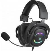 Casti Gaming HP DHE-8006 7.1 virtual surround USB Negru