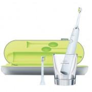 Periuta de dinti electrica Philips Sonicare DiamondClean HX9332/04, 31000 miscari de curatare/minut, 5 moduri, 2 capete, Alb