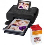 Canon SELPHY CP1300 Zwart + Papier 108 vel