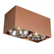 QAZQA Spot Box 2 miedź