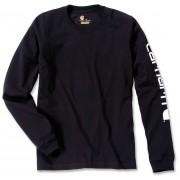 Carhartt Logo Camisa de manga larga Negro XL