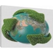 Glob pamantesc 3 - Tablou canvas - 70x100 cm