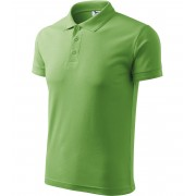 ADLER Pique Polo Polokošile 20339 trávově zelená L