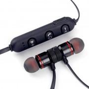 Draadloze Sport Bluetooth Magneet Oortelefoon Headset Voor iPhone Samsung Huawei #259077