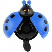 ER Precioso Kid Escarabajo Mariquita Anillo Bell Para Bicicleta De Ciclo Bike Ride Cuerno De Alarma Azul.