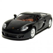 """Kinsmart - 4.5"""" Porsche Carrera GT (Black)"""