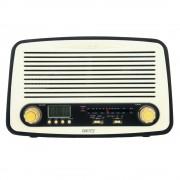 Radio MP3 Player Retro Camry din Lemn, Putere 18W, FM/AM, USB, Card SD, Alarma