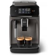 Espressor complet automat Philips EP1224/00, 2 băuturi, 15 bar, 1.8 L, 12 setări de măcinare, Sistem clasic de spumare a laptelui, Afişaj tactil, Filtru AquaClean, Gri caşmir