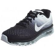Nike Air Max 2017 Running Shoes (9, BLACK & WHITE)