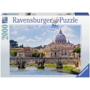 Puzzle podul Sant Angelo, Roma 2000 piese Ravensburger