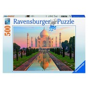 Ravensburger Puzzles Taj Mahal, Multi Color (500 Pieces)