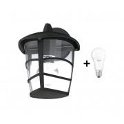Eglo 93098 - LED Aplică perete exterior ALORIA 1xE27/9W/230V