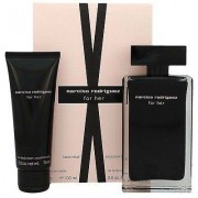 Narciso Rodriguez For Her Travel Set - Eau De Toilette 100 Ml Spray + Body Lotion 75 Ml (3423478928756)